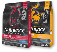 Discover the Nutrience Subzero line of pet foods.